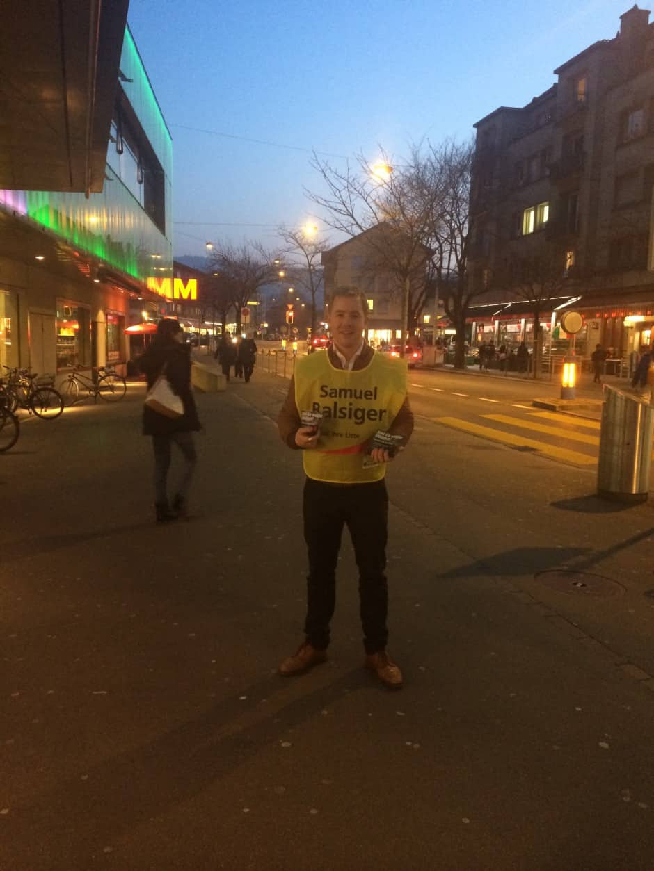 Gemeinderats-Wahlkampf 2014