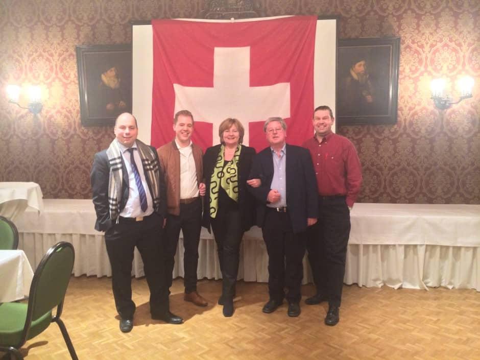 Abschlussbild vom Gemeinderats-Wahlkampf 2014
